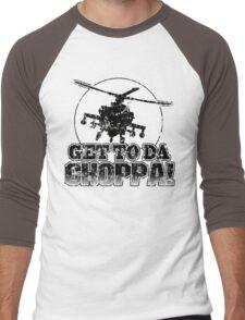 Get to da Choppa Men's Baseball ¾ T-Shirt