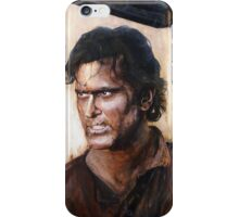 Bruce Campbell V.S Army of Darkness iPhone Case/Skin