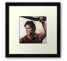 Bruce Campbell V.S Army of Darkness Framed Print