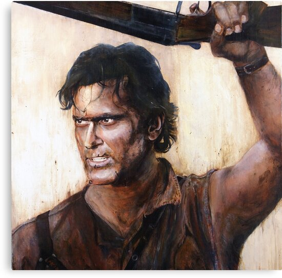Bruce Campbell V.S Army of Darkness by Martin  Kumnick