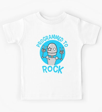 Programmed to Rock Kids Tee
