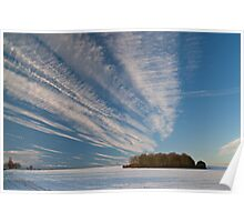 Snow Clouds Poster