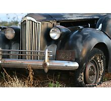 Boot Hill hearse Photographic Print