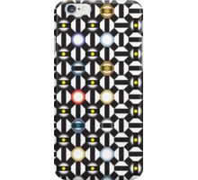Abstract Bottle Caps iPhone Case/Skin