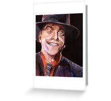 Jack Napier Greeting Card