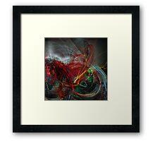 Abstra X3 Framed Print