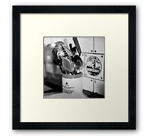 spoons and spatula Framed Print