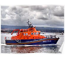 Returning To Port ~ *Royal National Lifeboat Institution* Poster