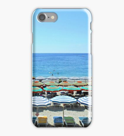 Colorful Cinque Terre Beach iPhone Case/Skin