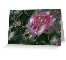 Pink Rose Dream Greeting Card