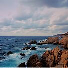 Stormy landscape -  The Straits of Bonifacio . by Brown Sugar. Views (695) . Favs (4) . Thank you friends with waaaws !!! Views (695) favorited by (4) thanks ! by AndGoszcz