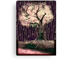 The Fright of Light Canvas Print