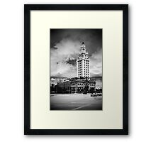 Freedom Tower remodel completed  Framed Print