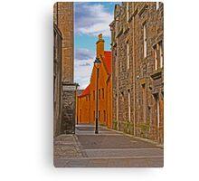 Scotlands Close, Bo'ness Canvas Print