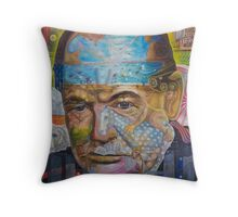 Churchill ''DEFIANT''  Throw Pillow