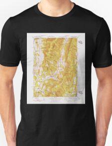 Massachusetts  USGS Historical Topo Map MA Hancock 351772 1944 31680 T-Shirt