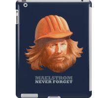 EPCOT Norway Pavilion MAELSTROM NEVER FORGET - Retro Disney - Construction Guy iPad Case/Skin