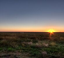 Flint Hills Sunrise by Jay Stockhaus