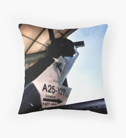 blackhawk : danger  Throw Pillow