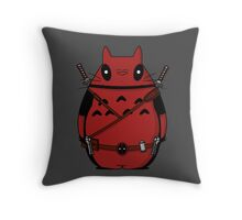 Toto Deadpool Throw Pillow