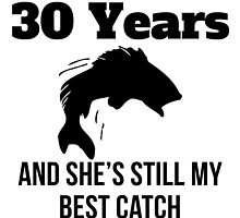 30 Years Best Catch by GiftIdea