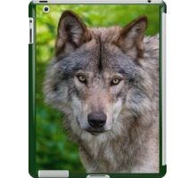 Timber Wolf Portrait iPad Case/Skin