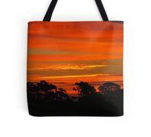 Winter Solstice Sunrise Tote Bag