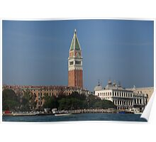 St Marks Square - Campanile Di San Marco Poster
