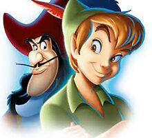 Peter Pan - Pan and Hook by swiftspick