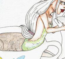 Teacup Mermaid-English Breakfast Sticker