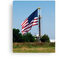 Drill USA Canvas Print
