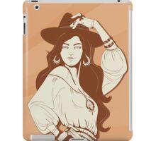 Boho Chic girl iPad Case/Skin