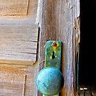 rusty knob by Brian J Castro