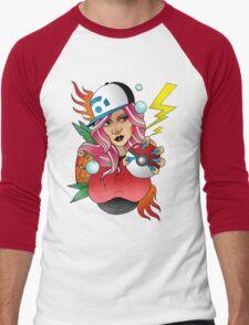 Gotta Catch Em All Men's Baseball ¾ T-Shirt