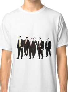 Reservoir Dogs with colored ties and glasses Classic T-Shirt