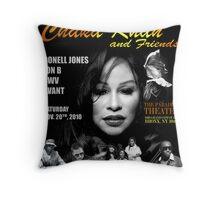Chaka Khan '11 Throw Pillow