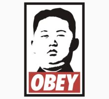 Obey Kim Jong Un One Piece - Long Sleeve