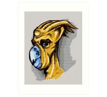 M'uuk Tahr Alien Concept Art Print