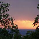 Stormy Sunset by PurpleDonna