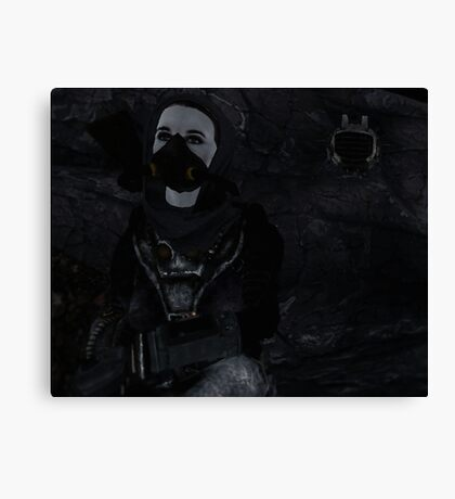 Star gazing with ED-E Canvas Print