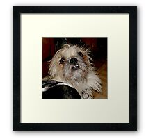 SMILIN' JACK Framed Print
