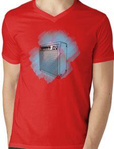 COLOR WAVES MUSIC Mens V-Neck T-Shirt