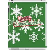 Merry Chrismukkah  iPad Case/Skin