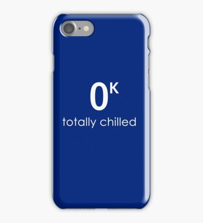 Totally Chilled iPhone Case/Skin