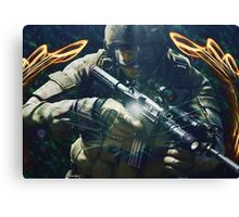 Space soldier #2 Canvas Print