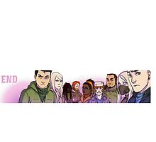 No End Cast by noendcomic