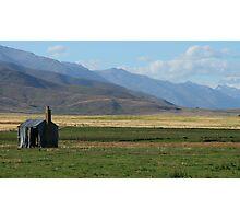 """hut""   ohau,  south island, new zealand Photographic Print"