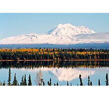 Mount Drum (Alaska) Photographic Print