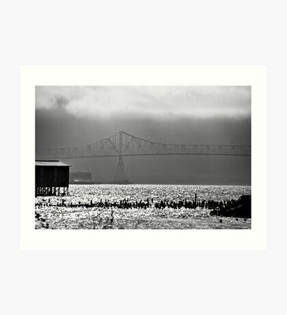 Astoria Bridge Art Print