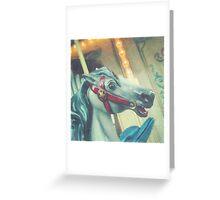 carousel horse 2 Greeting Card